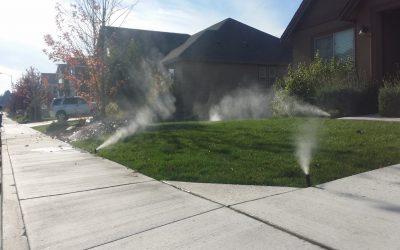 Benefits of Sprinkler System Winterizing / Sprinkler Blowouts